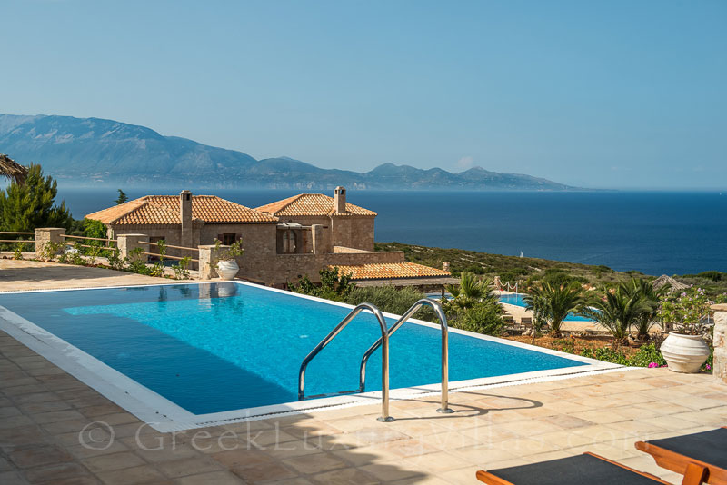 Two bedroom villa with a pool in Zakynthos