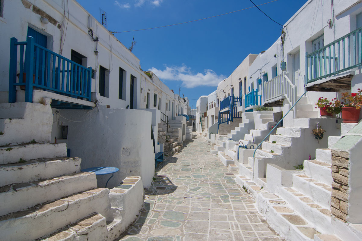 My Travel Blog for Folegandros
